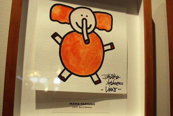 Y esto alegra las paredes de Target House.   Da click aquí para hacer tu...