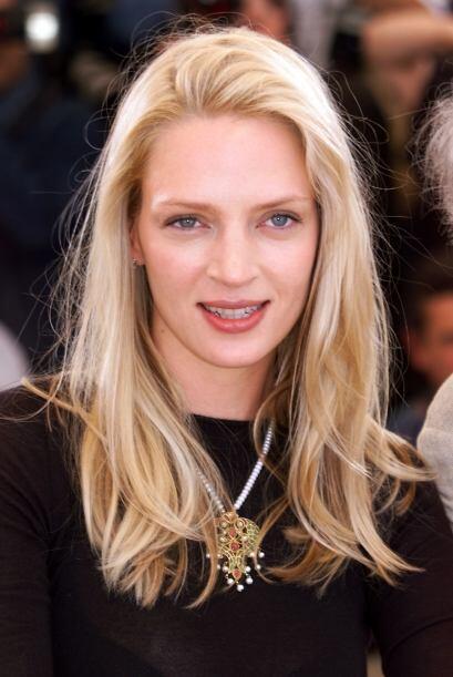 Los rasgos de la actriz eran muy característicos, sus lindos ojos azules...