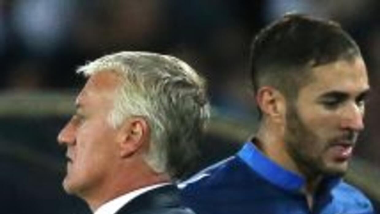 El entrenador francés espera que Karim reaccione pese al mal momento gol...