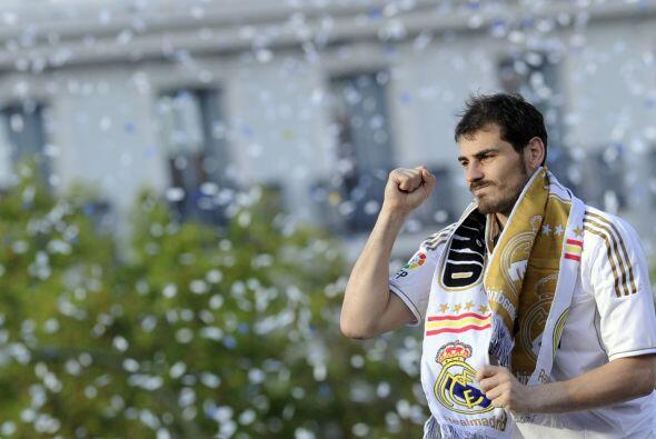 Iker era de los jugadores que no ocultaban su emoción.