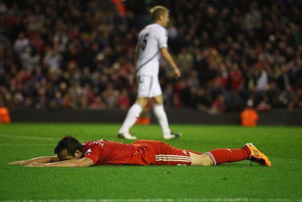 Pero otros, del Liverpool, se quedaron dormidos por lo mal que jugaron.