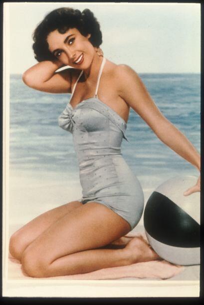 La belleza de Elizabeth Taylor era incomparable y muchos hombres cayeron...