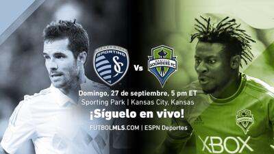 Sigue en vivo Sporting KC vs Seattle Sounders