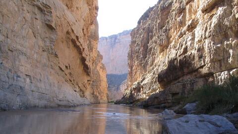 En el Cañón de Santa Elena del Parque Nacional Big Bend, e...