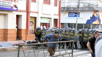 En fotos: disturbios en Paraguay por enmienda constitucional que permitiría la reelección
