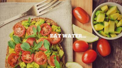9 alternativas (además del agua) para mantenerte hidratado