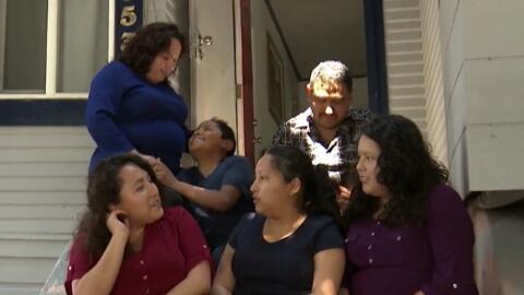 La familia Sánchez lucha para continuar unida, luego que un tribunal de...