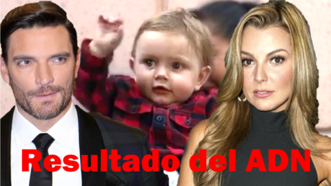 Julián Gil  y Marjorie de Sousa con su hijo Matías Gil.