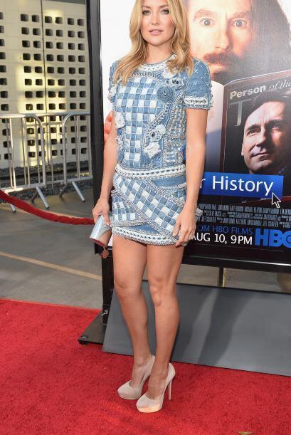 Kate Hudson es la novia eterna en las películas de Hollywood.