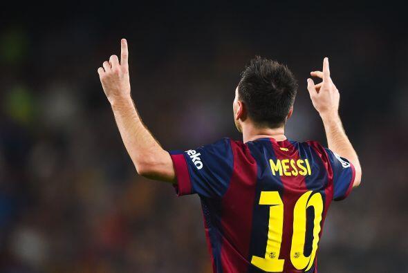 A un paso de Neymar tenemos a Messi, un jugador que aunque no ha tenido...