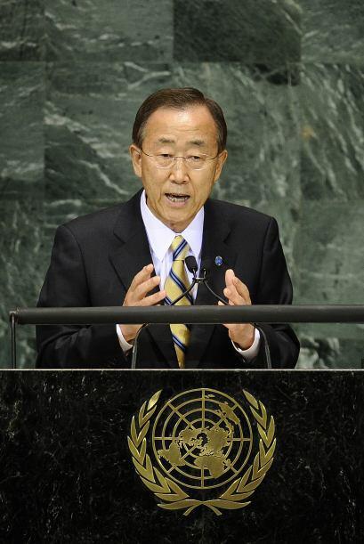 El Secretario General de la ONU urgió a las naciones a cumplir sus prome...