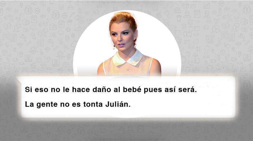 Aquí están los chats que Julián Gil borró de su Instagram Card5.jpg