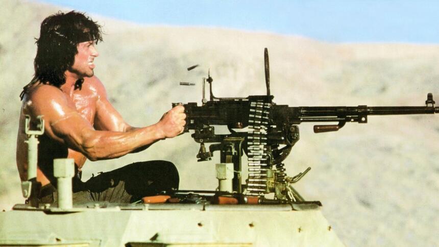 El día que Rambo, Arnold Schwarzenegger y Bruce Jenner salvaron al Ford...