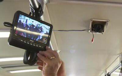 Terminan de instalar cámaras de seguridad en los vagones del sistema de...