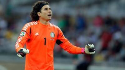 Ochoa sólo recibió un gol en los 90 minutos ante el Nimes.