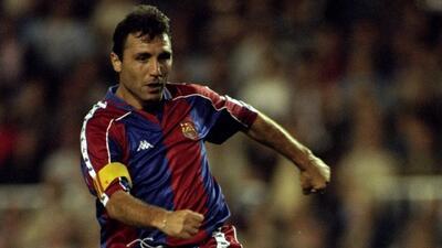 Con el sello del 'crack': golazo de Hristo Stoichkov en la Liga de Campeones