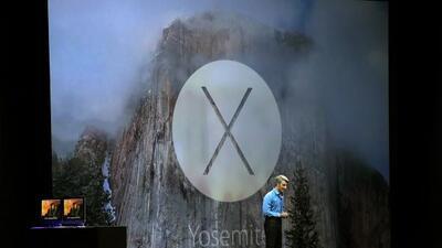 El nuevo sistema operativo para Mac fue bautizado como OS X Yosemite en...