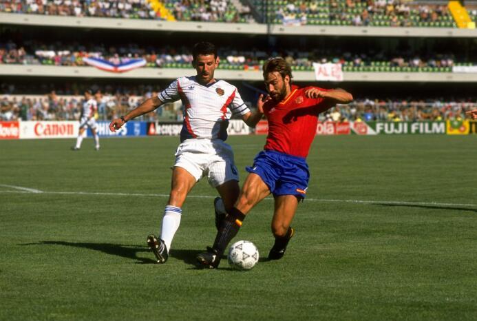 Davor Jozić (Yugoslavia/Bosnia) jugó en el América de 1993 a 1994, llega...