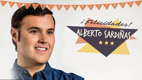 Así se celebro el cumpleaños de Alberto Sardiñas en los estudios de Amor
