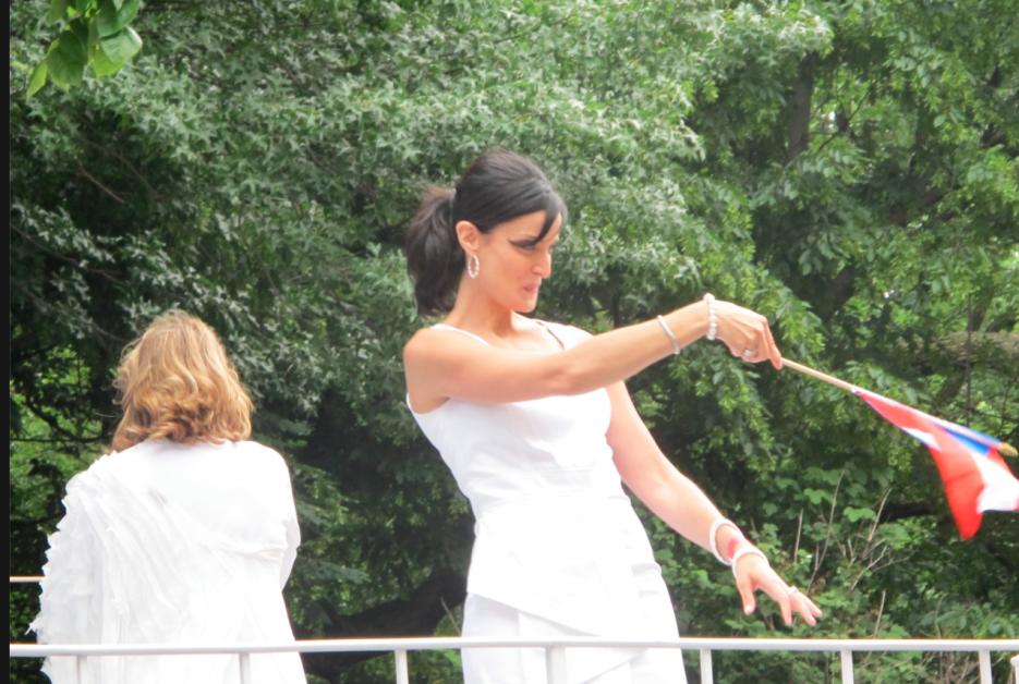La exMiss Universo Dayanara Torres exhibió su belleza en el 2011.
