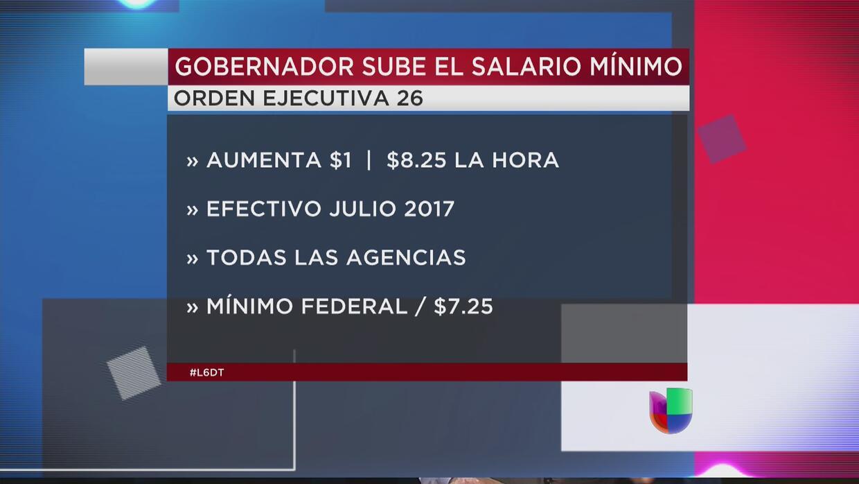 En la mira: Aumentó el salario mínimo en las agencias de Gobierno