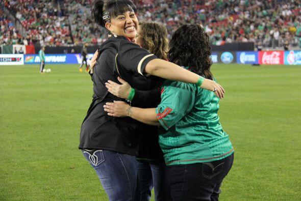 Fue una noche de muchas emociones para nuestros ganadores, que celebraro...