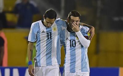 Para Dí María, jugar con Messi ha sido lo mejor que le ha...