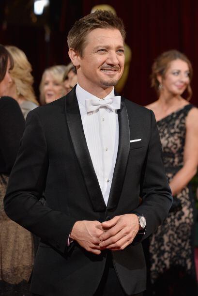 En la pasada entrega del Oscar, marzo del 2014 Jeremy Renner llegó solit...