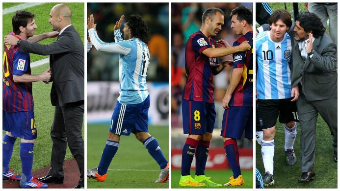 Este es el 11 ideal de los que NO fueron requeridos a la boda de Messi b...