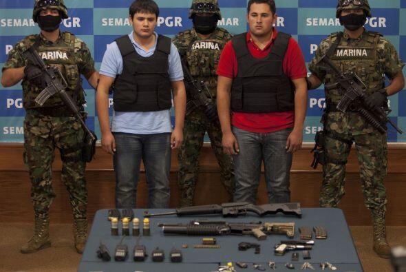 21 de junio. La Secretaría de Marina y Armada de México anunció la captu...