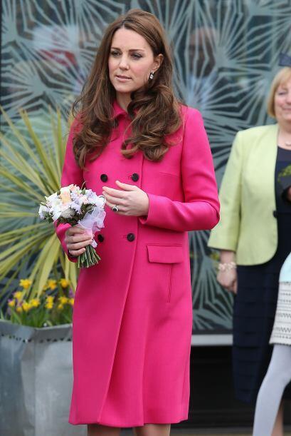 Pronto vendrá un hermanito o hermanita para el príncipe George.