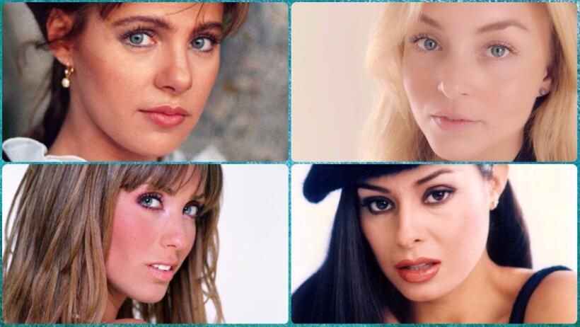 16 actrices de telenovela que han impactado por la belleza de sus ojos