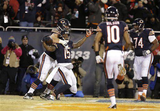 Brandon Marshall, receptor de los Chicago Bears (AP-NFL)