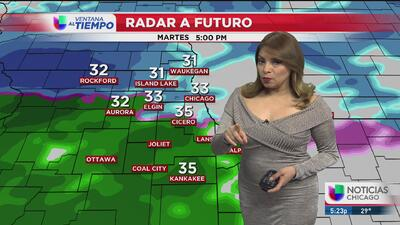 Bajas temperaturas y posibilidad de nevada para este lunes en Chicago