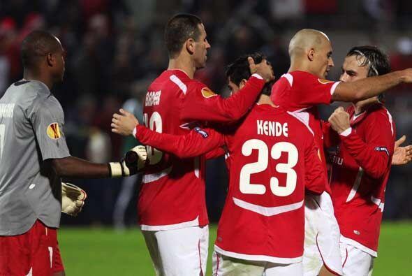 Con esta victoria el equipo Israelí se metió de primero en su grupo hast...
