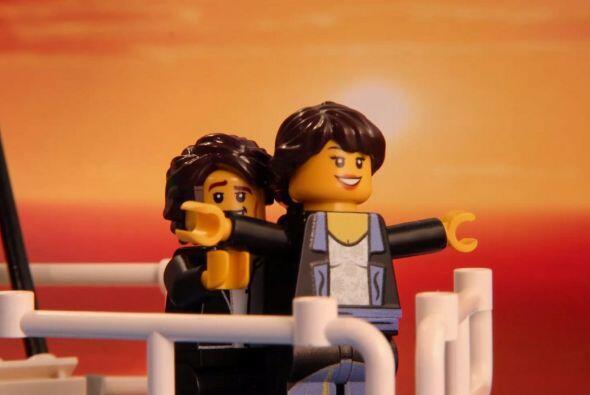 El clásico de clásicos, Rose y Jack en 'Titanic'
