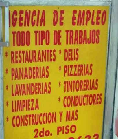 Muchos latinos vienen a trabajar para sus familias. El trabajo es parte...