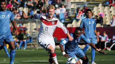 La selección europea aplastó 8-1 al combinado de Oceanía.