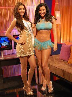 Echate un taco de ojo con estas dos bellezas latinas, una nicaragüense y...