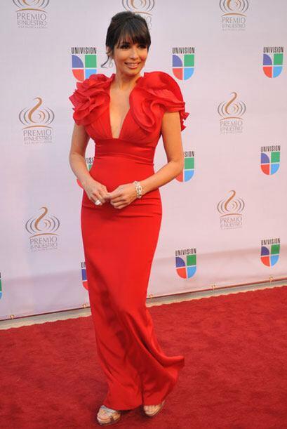 La presentadora de Nuestra Belleza Latina, fue la presentadora de la alf...