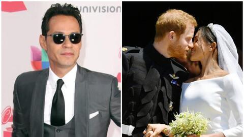 Presume Marc Anthony su foto en la boda real