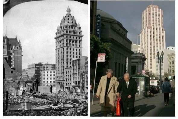 Terremoto en San Francisco: ayer y hoy | A 106 años del terremoto de mag...