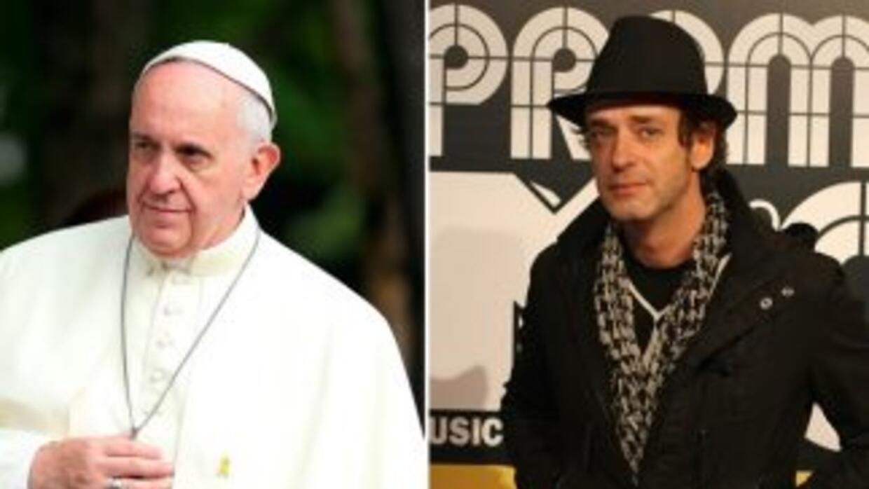 El Papa Francisco I alzó sus oraciones en silencio por la salud del músi...