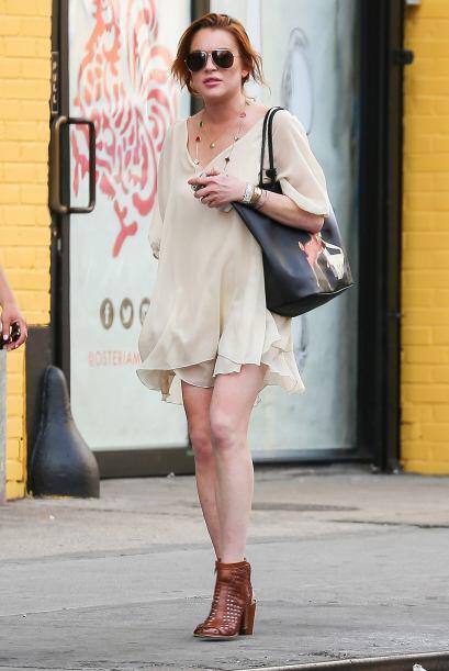 Aunque se ha esforzado en mejorar su estilo, Lindsay Lohan sigue estando...