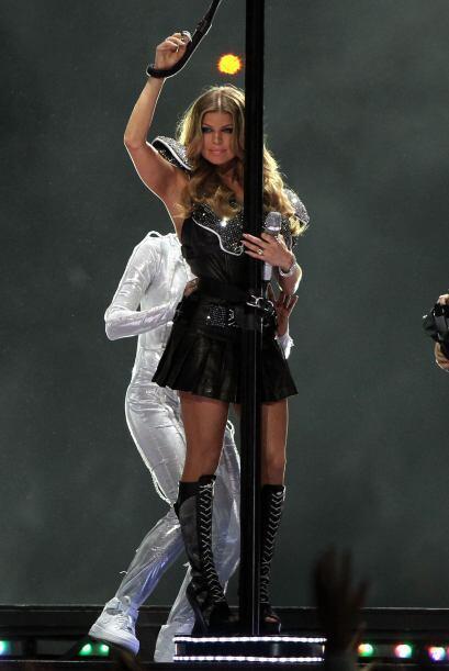 La belleza de Fergie en el escenario.
