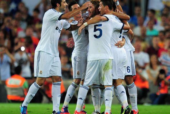 Real Madrid pegaba primero y parecía que adquiría confianza para encarar...