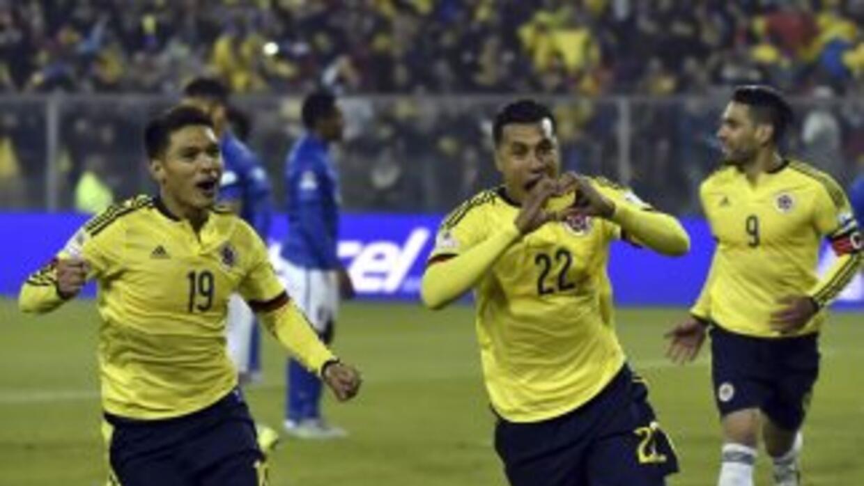 Colombia vence 1-0 a Brasil.