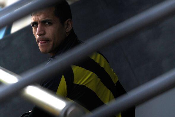 Con goles en seis de sus últimos ocho juegos, el chileno Alexis Sánchez...