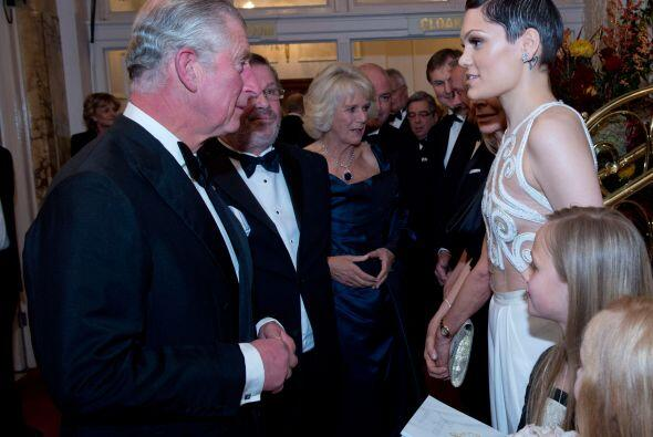 La fiesta Royal Variety Performance albergó a gente muy important...