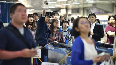 Terremoto sacude a Japón
